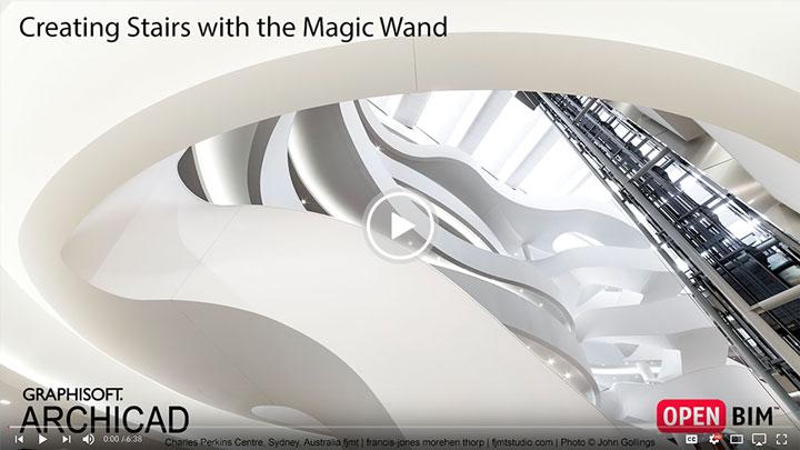 عصای جادویی برای ایجاد پله آرشیکد ۲۱