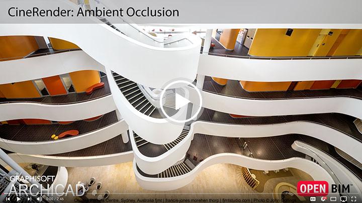 ابزار Ambient Occlusion در آرشیکد ۲۱